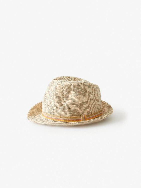 Zara Kids Hat With Sparkly Striped Band Girls Accessories Hats Crochet Bucket Hat
