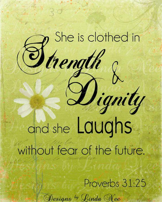 Proverbs 31 25 Quotes: PROVERBS 31:25 Woman Bible Verse Printable Wisdom Wall Art
