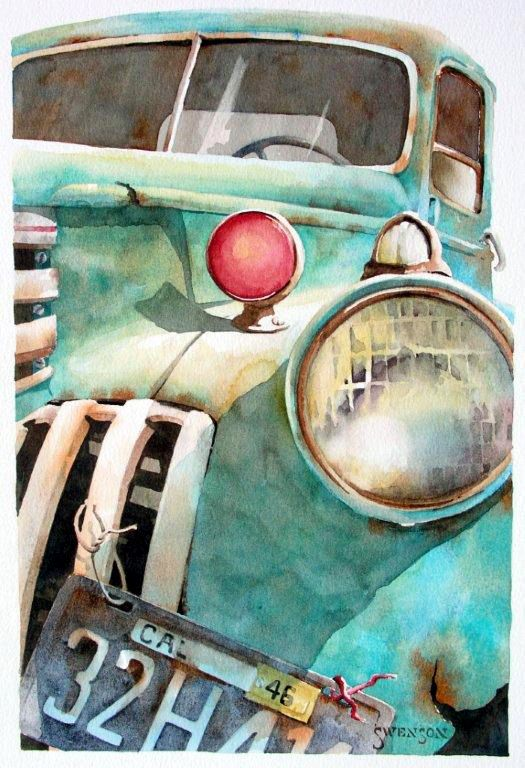 188 best OLD CARS   TRUCKS PA NT NGS images on Pinterest   Watercolor  paintings  Cars and Watercolors. 188 best OLD CARS   TRUCKS PA NT NGS images on Pinterest