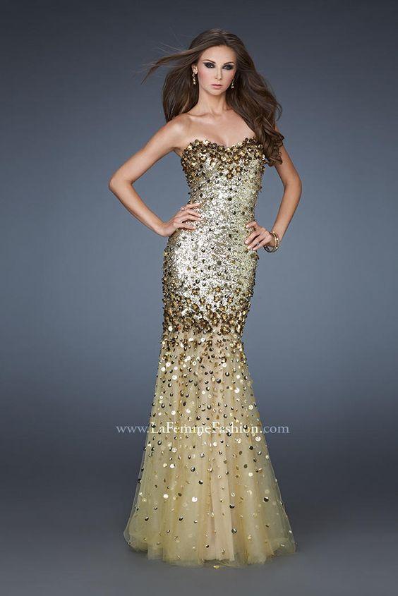 La Femme Evening 18439 La Femme Evening PZAZ DRESSES-THE BEST ...