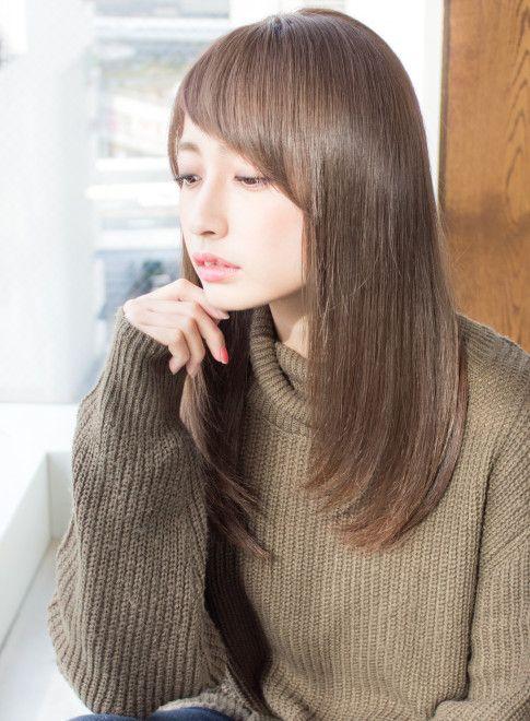 ロング Afloat明日香のつるつるストレート Afloat Japanの髪型 ヘア