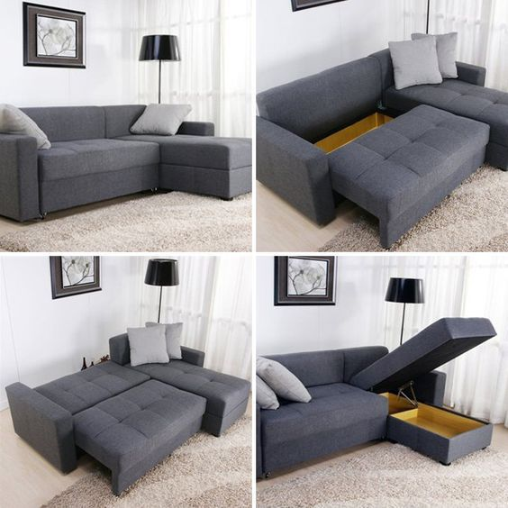 Charming Combo Couch: All In One Lounger, Love Seat + Sofa Bed U003d Sofa Beds Sneak Two  Functions Into One Piece Of Furniture, But These Designs Go Beyond Theu2026