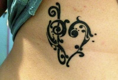 Best music/heart tattoo I've seen