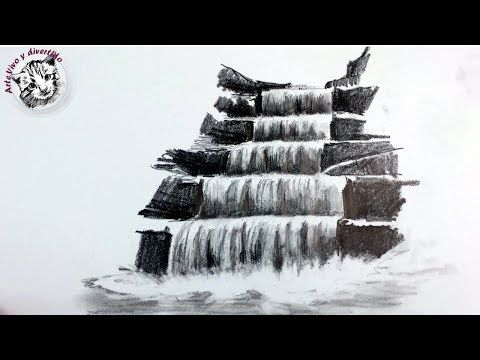 120 Como Dibujar Una Cascada A Lapiz Paso A Paso Tecnicas De Dibujo Con Lapiz Youtube Lapices De Colores Dibujos Cómo Dibujar Cosas Dibujo Cascada