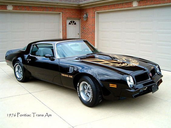 1976 Pontiac Trans Am 455. Awesome American Muscle!