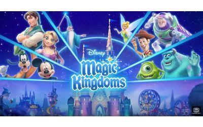 Disney Magic Kingdoms nasce dalla collaborazione tra gli studi di sviluppo di Gameloft e il famoso marchio legato a Topolino e a tutti i personaggi del mondo Disney, per dar vita ad un simpatico e divertente gestionale