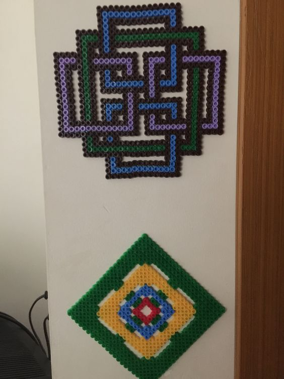 Pixelart,tribal art,minecraft