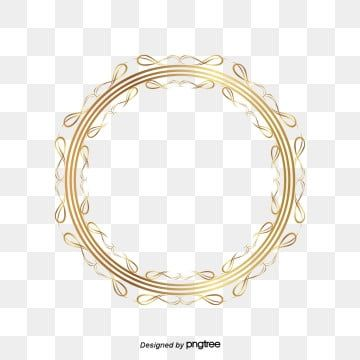 Golden Circle Sliding Frame Pattern Curve Of Gold Stripes Move The Golden Arches Frame Vector Png And Vector With Transparent Background For Free Download In 2020 Gold Circle Frames Golden Circle Gold