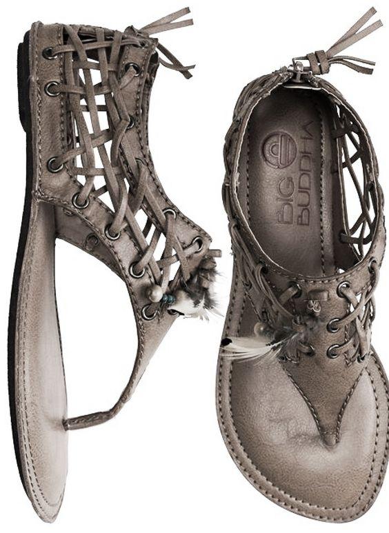 ☮ American Hippie Bohemian Boho Style .. Shoes - Sandals...I love!