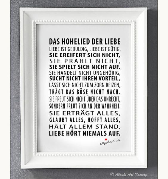 Originaldruck - Kunstdruck A4 Das Hohelied der Liebe   von AboukiArtFactory via DaWanda.com