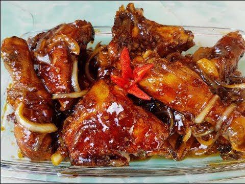 Resep Ayam Kecap Bawang Bombay Manis Gurih Empuk Ayamnya Youtube Food Chicken Recipes Bombay Recipe