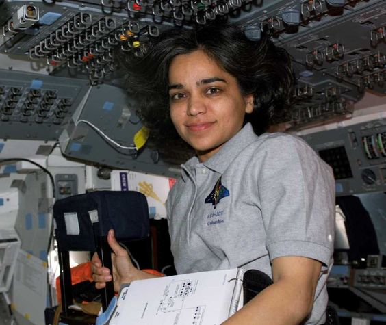 Kalpana Chawla In The Space Shuttle Simulator  Women