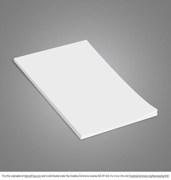 Vector Brochure Mockup