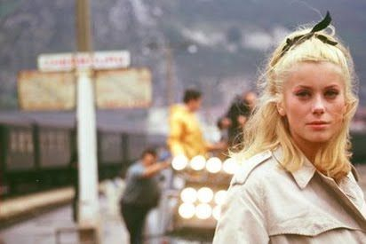 Les Parapluies de Cherbourg with Catherine Deneuve and Nino Castelnuovo,directed: Jacques Demy
