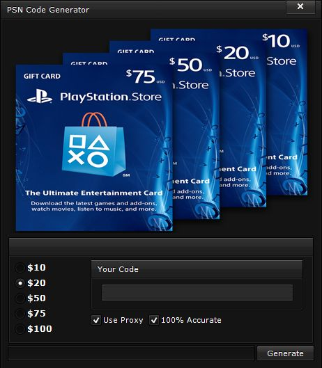 ... free, free psn hack tool, free psn money psn code generator no