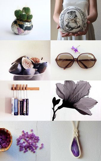purple by Annalisa Nuzzolo on Etsy--Pinned with TreasuryPin.com