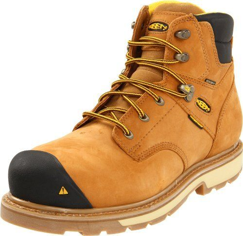 "Keen Utility Men's Tacoma 6"" Steel Toe Work Boot Keen Utility ..."