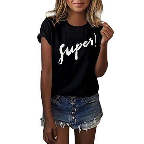 T-shirt noir manches courtes femme I WANT TO BELIEVE