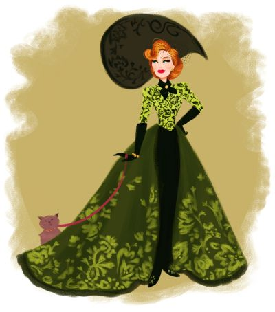 Dylan Bonner's Art - Lady Tremaine