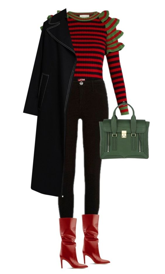 """""""street style"""" by ecem1 ❤ liked on Polyvore featuring Gucci, River Island, 3.1 Phillip Lim and Marni"""