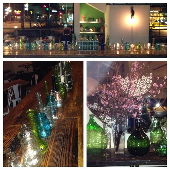 Spring Fling with: Colored Glass  @ GreenLeaf Costa Mesa. By: Broadway Botanicals