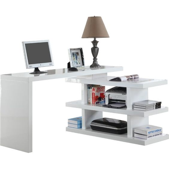 Extendable Home Office Desk Perfect For Small Spaces Or Your Kids Cheap Office Furniture Office Furniture Modern Office Desk