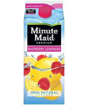 Minute Maid Raspberry Lemonade (main craving when pregnant with Mason)...