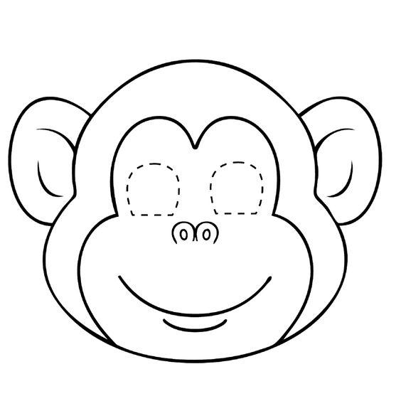 kleurplaten aap - Google zoeken