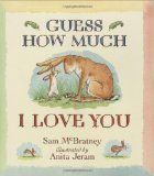 The book Guess How Much I Love you, one of my favorites!: Favorite Book, Baby Book, Kids Book, Children S Book,  Dust Cover, Picture Book