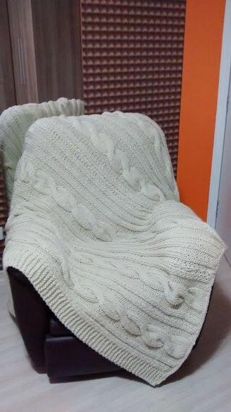Manta de tric para poltrona e sof sof s - Manta de sofa ...