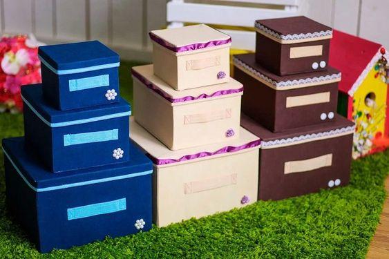 Применяем старую коробку от обуви с пользой
