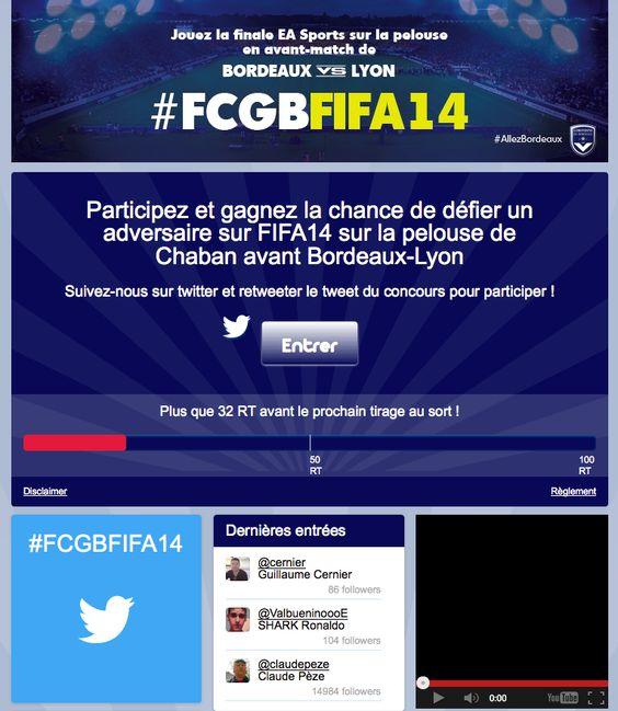 Girondins de Bordeaux - Twitter Contest #Socialshaker