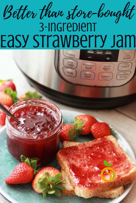 Easiest Strawberry Jam Ever!!!