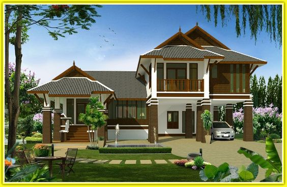 Bp24 http www for Thai style home designs