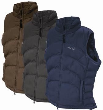 Ideal for cooler days, this lightly padded Mark Todd gilet features zipped pockets, elasticated waist insert at the back, and a shaped fit for total comfort. Smart enough for casual wear, riding or around the yard. Only £25