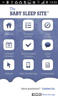 Baby Sleep Site app now available for Android users