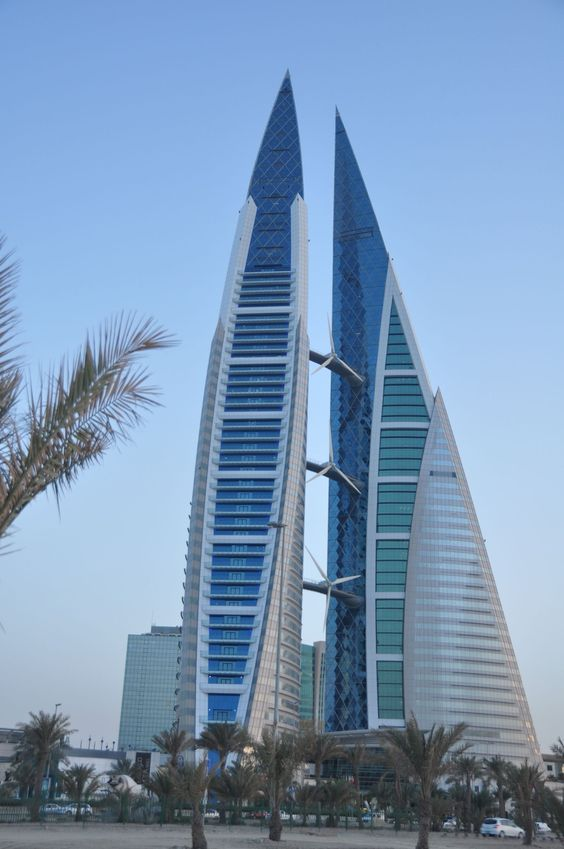 Skyscrapers doha and world trade center on pinterest for Architecture companies qatar