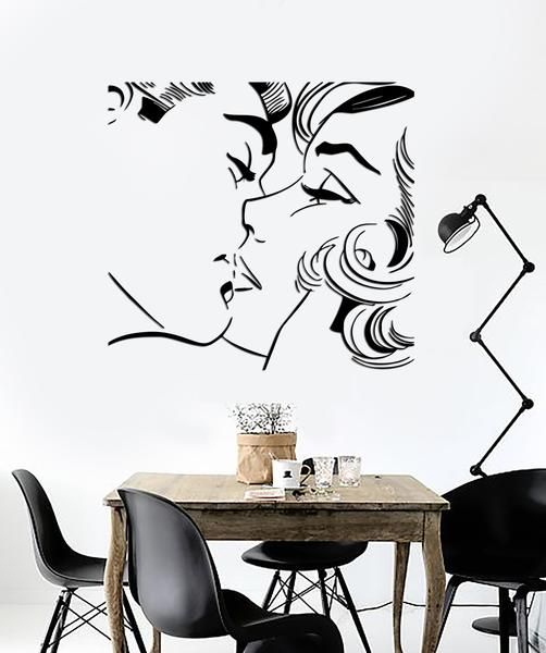 Our vinyl stickers are unique and one of a kind! Every sticker we sell is made per order and cut in house!We make our wall decals using superior quality interio