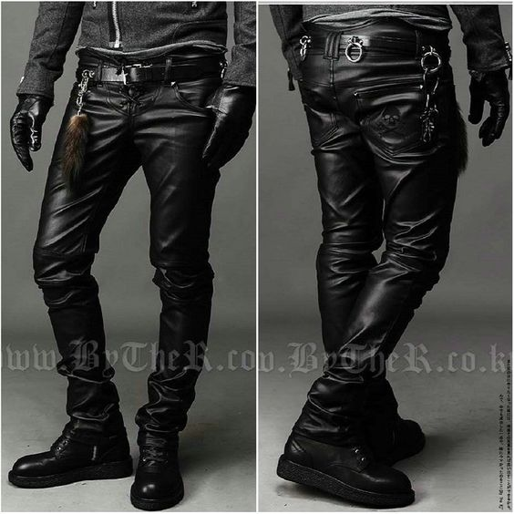 Taobao  Men's 2012 new Korean men's boots leather pants pants pants men's leather pants feet pants leggings locomotive tide pants china english wholesale