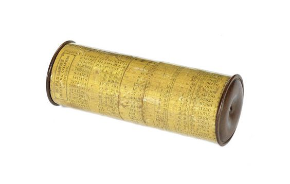 A rare McFarlane's calculating cylinder, Scottish, circa 1835,