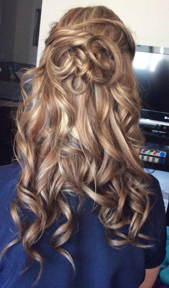 Peinado con ondas