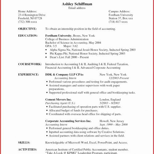 80 Elegant Gallery Of Resume Summary Examples Clerical