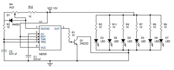 pwm led dimmer using ne555