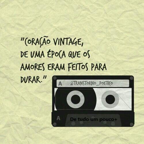Coração vintage