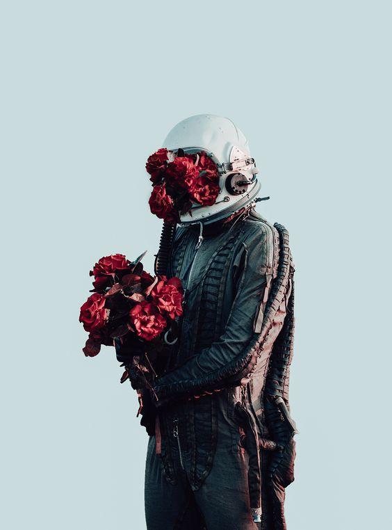 Astronauta apaixonado