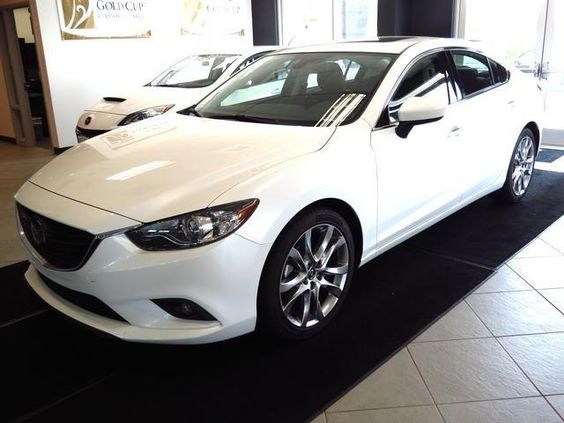 2014 mazda 6 grandtouring i grand touring sedan 4 doors snowflake white pearl mica for sale in. Black Bedroom Furniture Sets. Home Design Ideas