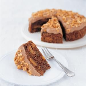 Chocolate, Zucchini & Nut Cake