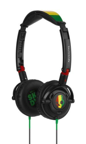 Music Headphones - Pin it :-) Follow us, CLICK IMAGE TWICE for Pricing and Info . SEE A LARGER SELECTION of music headphones at http://azgiftideas.com/product-category/music-headphones/  - gift ideas -  Skullcandy Lowrider Headphones with In-Line Mic S5LWDY-058 (Rasta)
