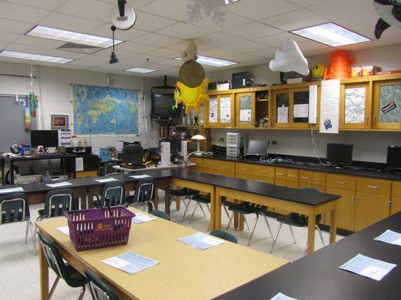 Classroom Decoration Secondary : Classroom photos of mr dyre s high school science lab