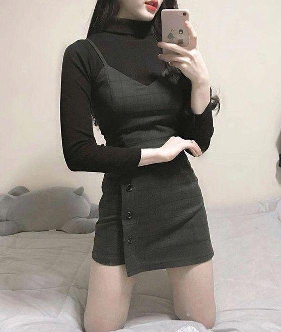 ALL BLACK FASHION | 00's潮女必学!20款【超SWAG黑色穿搭 】霸气LOOK,大学这样穿,让你帅到爆炸!